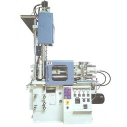Vertical Screw Type Plastic Moulding Machine