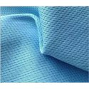 Blue Honey Comb (rice Knit) Fabrics, Gsm: 150-200, For Clothing