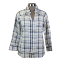 Giza Cotton Ladies Casual Shirt