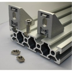 Aluminium Profile Angle Bracket, Upto 100 Mm