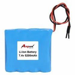 Li-Ion Battery Pack 7.4V 5200 Mah
