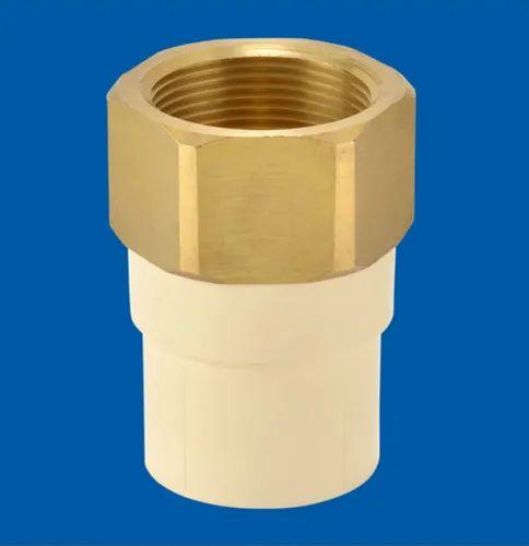 Cream Astral Female Adapter Brass Threads