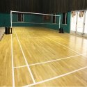 Matte Finish Beech Wood Badminton Court Flooring
