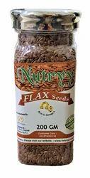 Nutryy FLAX 200 GM, Packaging Type: Bottle