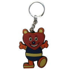 Cartoon Silicone Keyring