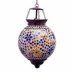 Multicolor Glass Mosaic Lamp for Home Decoration