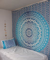 King Size Ombre Mandala Tapestry