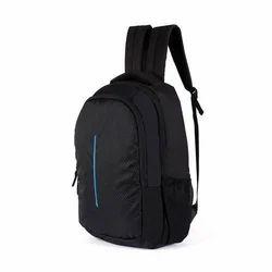 Black Plain Laptop Bag