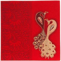 Blue Paper wedding card printing, Location: Muzaffarpur