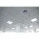 Pvc Coated Concealed Grid Laminated False Ceiling