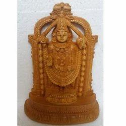 Wooden God Statue