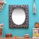 Gray Wall Mirror Glass