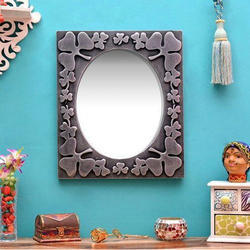Gray Wall Mirror Glass