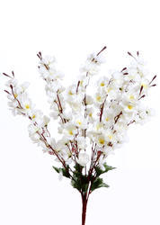 VCK Greens Polyester Artificial Cherry Blossom Flowers