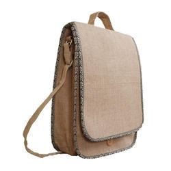 Handcrafted College Jute Bag