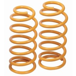 M.coil Spring Orange Hot Coiled Spring, Packaging Type: Box, for Industrial