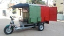 Shuttlecars Battery Operated Cargo Garbage Loader