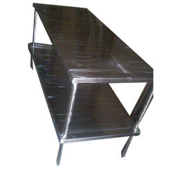 Polished Stainless Steel Working Table