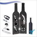 Wine Bottle Shaped Accessories Set