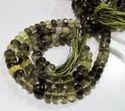 Top Quality Natural Bio Lemon Quartz Rondelle Faceted Beads,