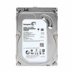 HDD SATA Seagate Internal Hard Drive, Storage Capacity: 2000 Gb