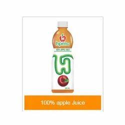 600ml HPMC 100% Apple Juice, Packaging Type: Bottle