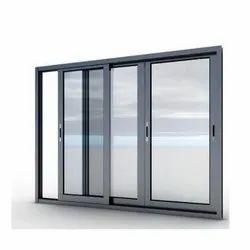 Modern Aluminium Aluminum Sliding Window, Size/Dimension: 4x5 Feet