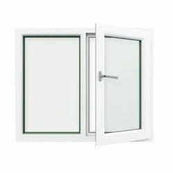White Aluminium Double Glazed Window