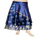Silk Sari Wrap Skirt