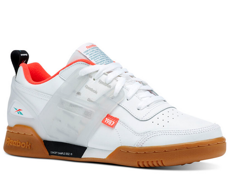 9b00b26a35a White Red Black Mist Reebok Workout Plus Altered Shoes