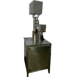 Semi Automatic ROPP Cap Sealing Machine GMP Model