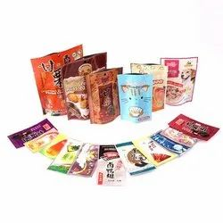 Printed and Laminated Food Packaging Pouch
