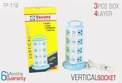 4 Layer Vertical Socket