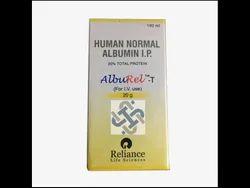 Alburel (Reliance) Alburel Albumin 20% INJECTION, 20%/100 ml, Below 30 Degree