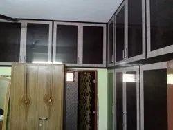 Brown Plastic Bedroom Wardrobe
