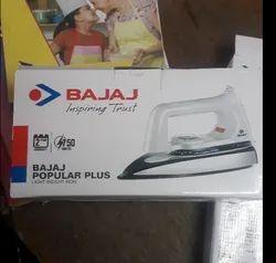 Metal Bajaj Popular Plus 750watt Dry Iron