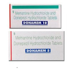 Memantine Hydrochloride Donepezil Hydrochloride Tablets