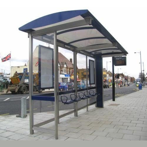 Stainless Steel Bus Stop Shelter At Rs 150000 Piece