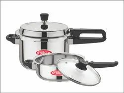 5L Stainless Steel Pressure Cooker With Pan