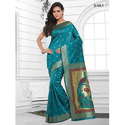 Multicolor Ladies Saree, With Blouse Piece