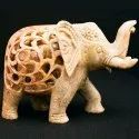 Soapstone Elephant Sculptures Undercut