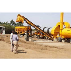 Hydraulic Mobile Asphalt Mixing Plant