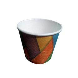 Round Printed Paper Cup, Packaging Type: Packet