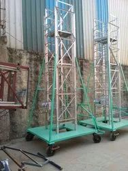 Extendable Ladder with Platform