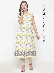 Designer Printed Stitched Kurti