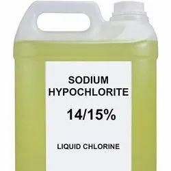 15% Sodium Hypochlorite