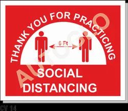 Covid19 Signage: Social Distancing