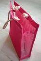 PVC Gusset Jute Bag