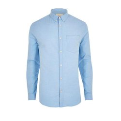 Men's Casual Plain Shirt