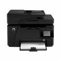 20 ppm HP Laser Jet Pro 100 MFP M128FW Printer